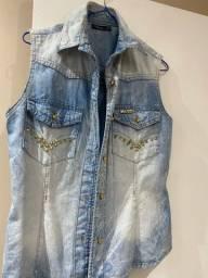 Título do anúncio: Colete jeans P