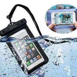 Capa para celular a prova d'água