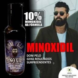 Minoxidil Dom Pelo 10%  original Cresce Barba ,Cabelo e Sombrancelha