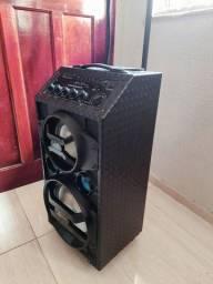Título do anúncio: Caixa de Som Amplificadora Lenoxx, 300 Watts