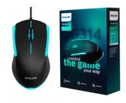 Mouse fio Philips SPK *DPI