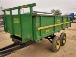 Carreta reboque 5 toneladas