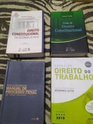 Livros de direito, todos por 100 reais