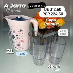JARRA COM COPOS