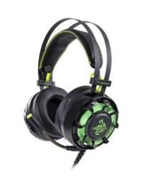 Fone Hoopson Usb Gamer 7.1 Ch Mod Zh17 Verde