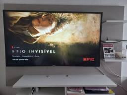 Título do anúncio: TV 43 polegadas junto com painel