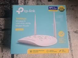 modem router + extender (tplink)