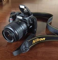 Título do anúncio: Nikon D3100 com 18-55mm
