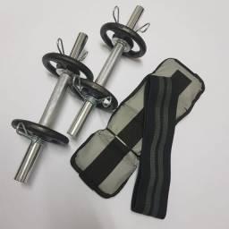 Título do anúncio: Equipamentos, pesos, anilhas e.halter para treino musculação