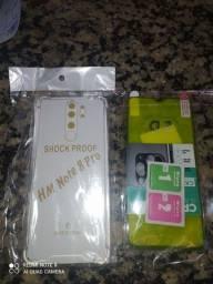 Vendo kit proteção para celular xiaumi note 8 pro