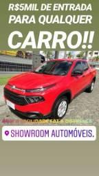 Feirão APROVA SHOWROOM !!FIAT TORO FREEDON 1.8 FLEX AUTOMÁTICA ANO 2018 - 2018