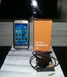 Smartphone J5 dourado completo! R$:390,00