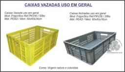 Caixa vazada uso em geral 29lts coloridas