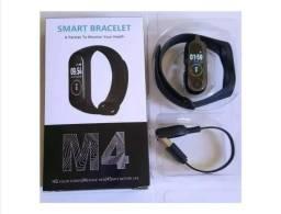 Título do anúncio: Pulseira Inteligente Smartband M4 Monitor Cardíaco Relógio