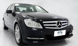 Mercedes-benz C180 C-180 1.6 CGI 2012 Preto Completo Automático - 2012