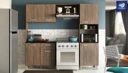 Cozinha com Balcão - 6 Portas e 1 Gaveta #FreteGRÁTIS* #Garantia #Novo
