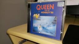 CD Queen ao vivo Duplo (Live Wembley 86)