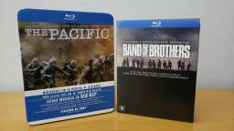 Box Blu Ray Band Of Brothers / The Pacific