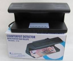 F- Maquina Detector E Teste De Nota Falsa Dinheiro Selo Passaporte