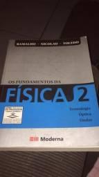 Livro seminovo Fundamentos da Física 2