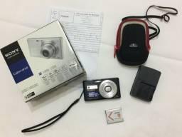 Sony Cybershot W530 com cartão de 1GB