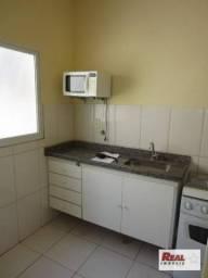 Kitnet com 1 dormitório para alugar, por r$ 650/mês - jardim sumaré - araçatuba/sp