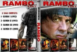 Coleção Rambo 4 filmes
