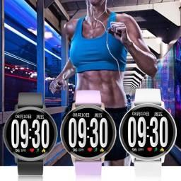 Relógio Smartwatch S8 Temperado temperado à Prova D'água