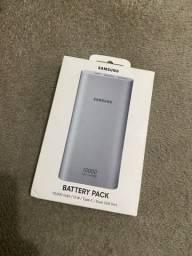PowerBank Samsung nunca foi aberta, com nota fiscal e garantia.
