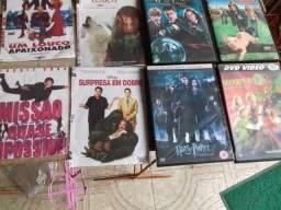 26 DVDs de filmes variados