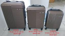 Conjunto de malas (P, M e G) novas