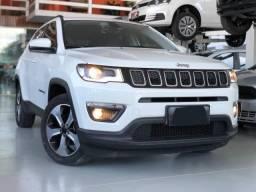 Jeep Compass Branco - IPVA pago - Estudo trocas - Sou particular - 2018