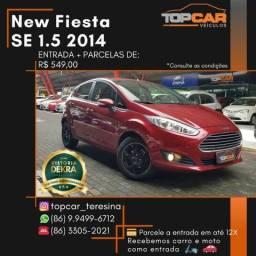 New Fiesta SE 1.5 2014 - 2014