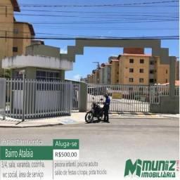 Aluga-se apartamento no Cond. Vivendas do Atlântico c/ 03 quartos, Barra dos Coqueros