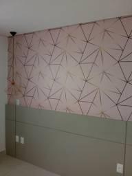 Instalador de papel de parede e adesivos em BH e região (R$ 40,00)