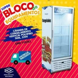 Freezer conservador congelamento vertical 555 litros - Novo, Frete Grátis