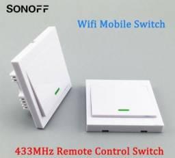 COD-AM328 Sonoff interruptor wifi modulo controle remoto switch 433mhz Arduino Automação