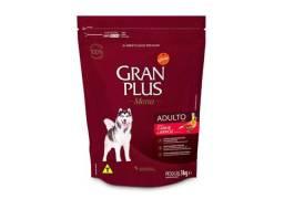 Ração GranPlus Menu Para Cães Adultos Sabor Carne e Arroz - 3kg