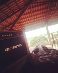 Amplificador de guitarra borne Vorax 1050 50w comprar usado  Betim