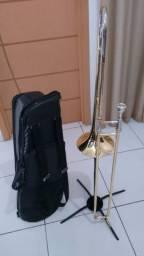Título: Vende-se Trombone Vara Weril g670 + Suporte + Case de Transporte