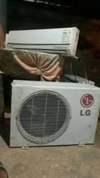 Somente hoje instalação de ar condicionado usado