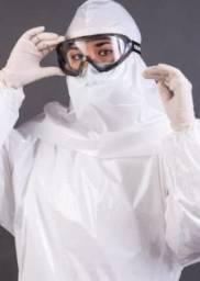 Capuz proteção hospitalar