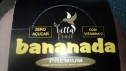 Barrinhas de fruta Zero Açúcar sem conservantes glúten Lactose