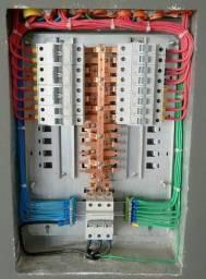 Instalações elétricas e hidráulica