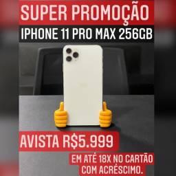 IPHONE 11 PROMAX 256GB SILVER SUPERPROMOCAO