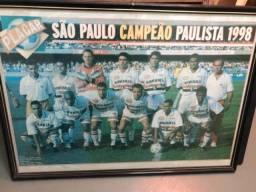 Para torcedor do tricolor - quadro campeão paulista 1998