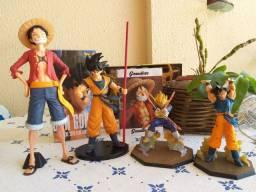 Título do anúncio: Action Figure estátuas Dragon ball e One piece