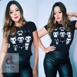 T-shirt Camiseta Feminina Estampada