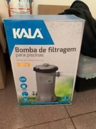 Bomba de filtragem para piscina Kala com pouco uso(2.000 L/hora)