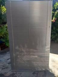 Persianas Horizontal cor alumínio